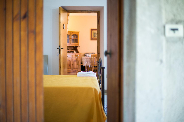 La camera tripla con accesso diretto alla sala